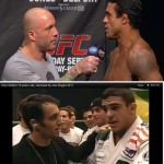Joe Rogan Vitor Belfort 15 years apart